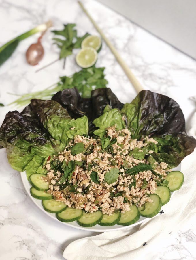 Vegan Thai Larb (Gluten-Free)